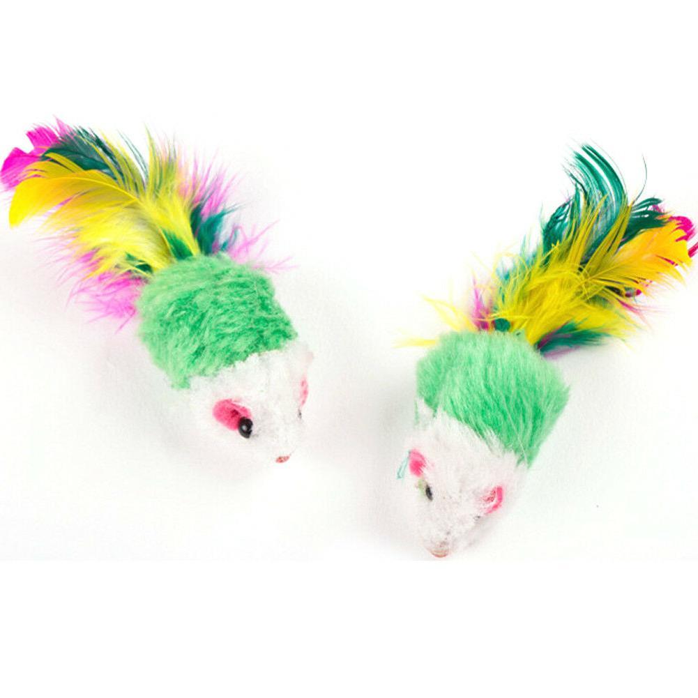 10pcs Cat Toys Toy Colorful