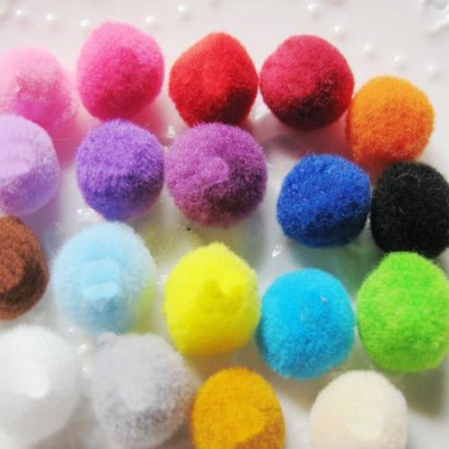 10Pcs/Pack Colorful Toys Play Rainbow Ball Plush