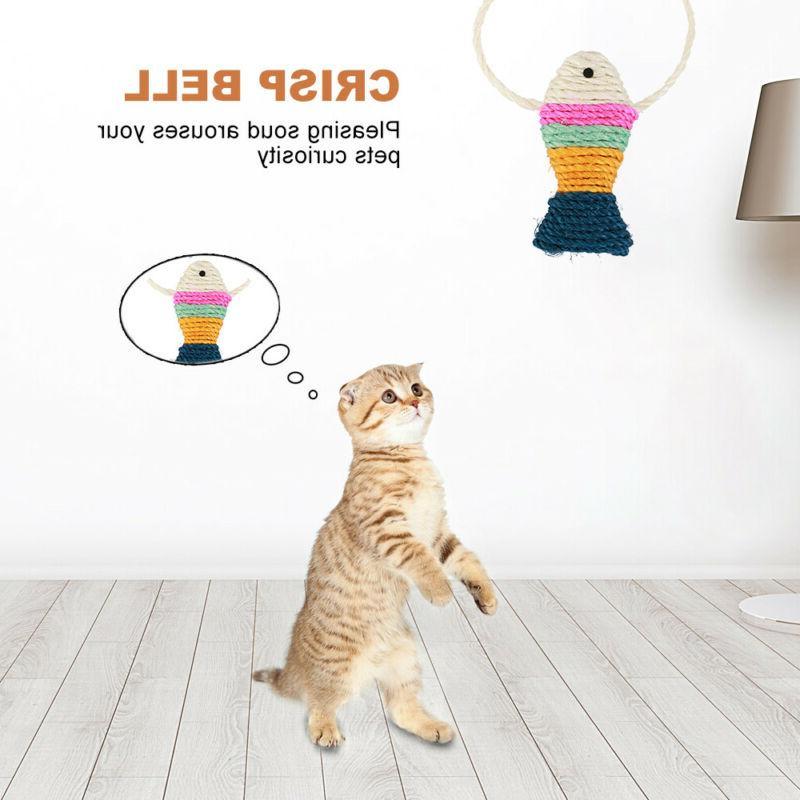 10Pcs Lot Bulk Mice Catnip Kitty Interactive Toys