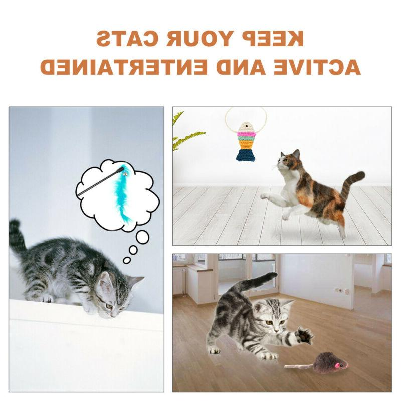 10Pcs Set Pet Lot Bulk Balls Catnip Kitten