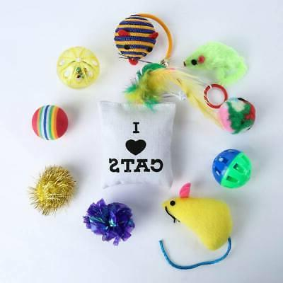 10/14 Pet Toys Small Mouse Toy with Bells