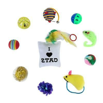 10/14 Pet Toys Small Mini Mouse Toy Bells Gift for Kitten