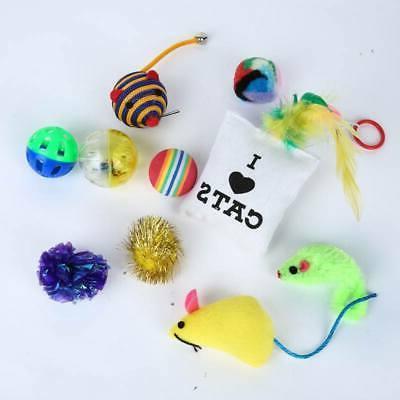 10/14 pcs Toys Small Mouse Bells Gift for Kitten