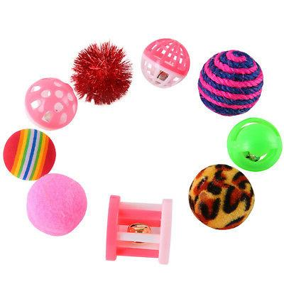 16Pcs Toys Bulk Balls Kitty Kitten Play Toy Free