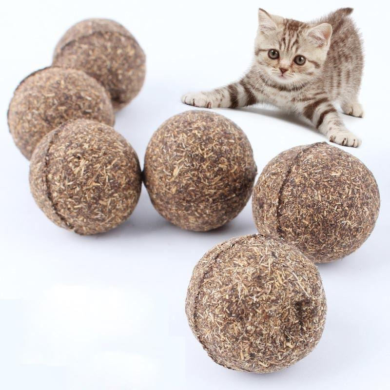 1pc pet cat toys natural catnip healthy