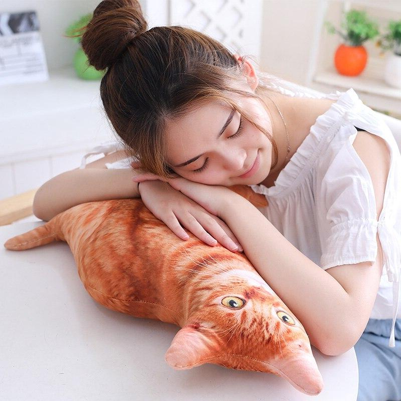 Babiqu 1pc Plush <font><b>Cat</b></font> Stuffed Sofa Decor Plush for <font><b>Kids</b></font>