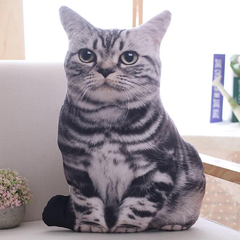Babiqu Plush <font><b>Cat</b></font> Stuffed Decor Cartoon <font><b>Toys</b></font> for <font><b>Kids</b></font> Gift