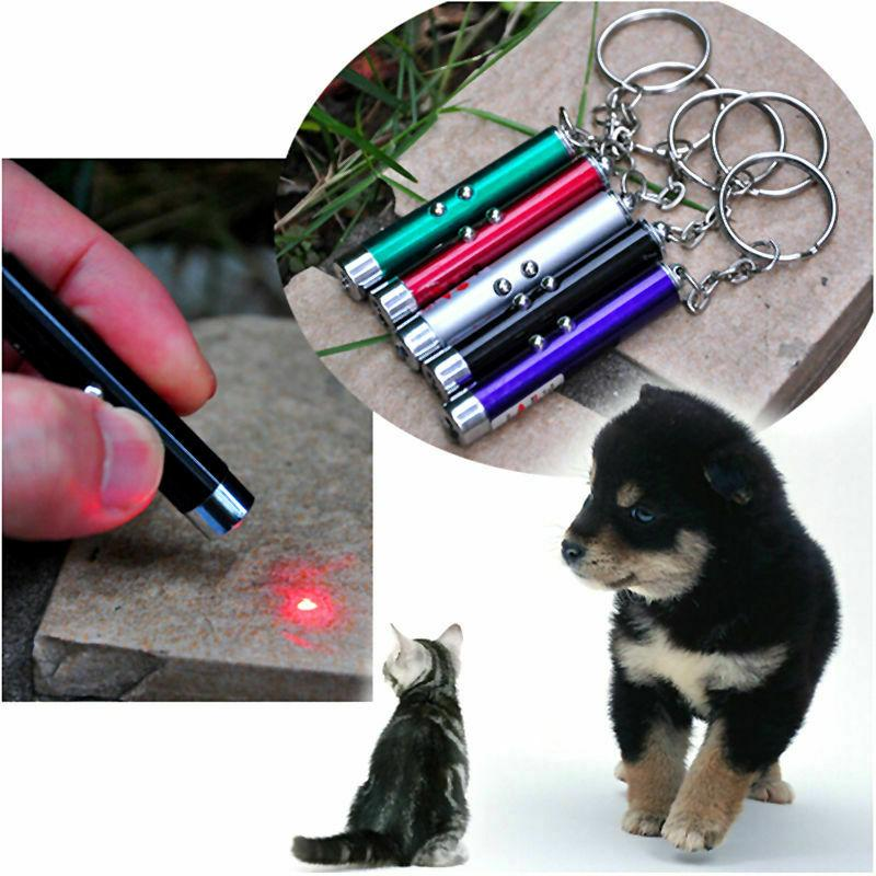 1pc Cat LED Pointer Pen Interactive Toy Children Fun