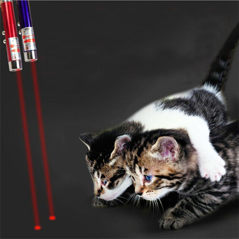1pc Cat LED Laser Pen Play Interactive Toy Children