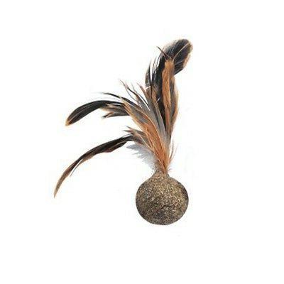 1pc Feather Cat Ball Treats