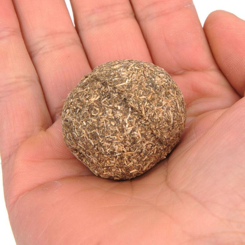 Cat Natural Catnip Ball Toys Treat Cats Playing Toy