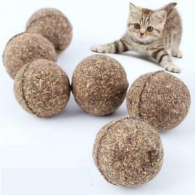 1pc Natural Catmint Ball Grass Supplies Cat Toy