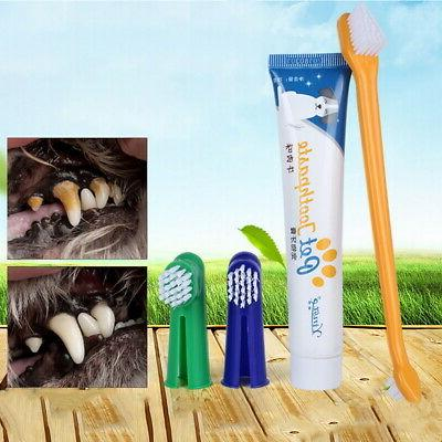 1PC Toothpaste Toothbrush Dental Health Dogs Cats