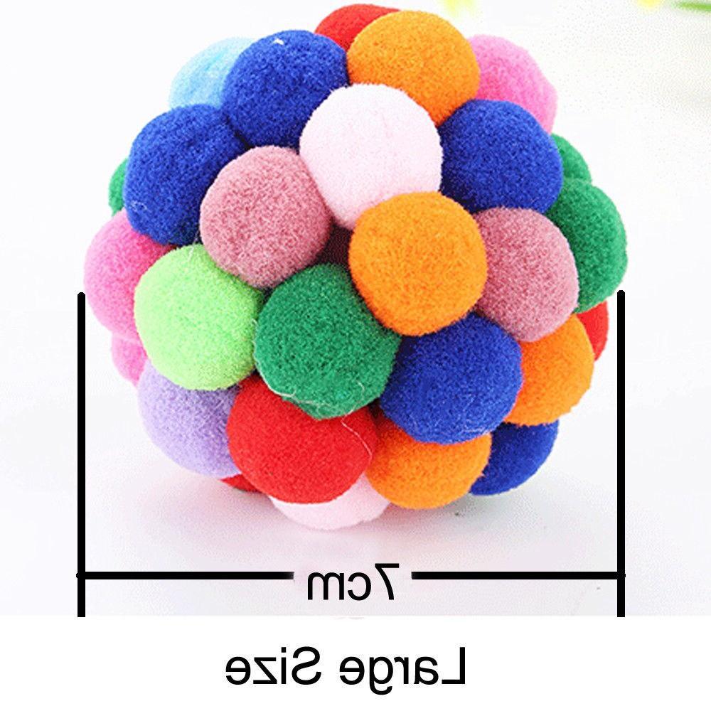 1pcs Colorful <font><b>Ball</b></font> Funny <font><b>Treats</b></font> <font><b>Ball</b></font> For <font><b>Cats</b></font> <font><b>toy</b></font>