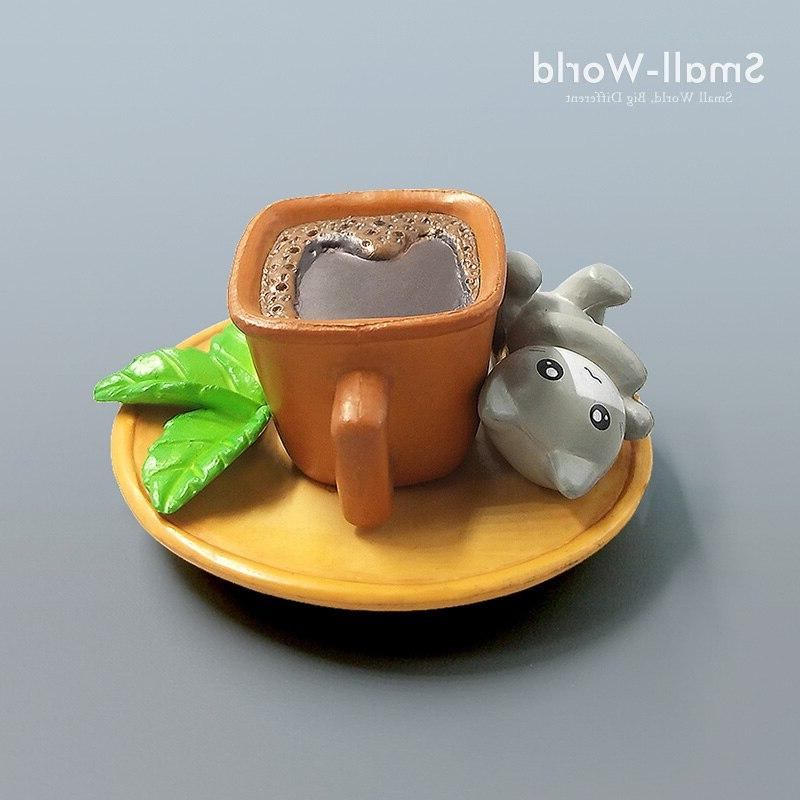 2017 Kawaii Coco Coffee <font><b>Cat</b></font> <font><b>toys</b></font> Micro <font><b>Garden</b></font> Miniatures Crafts Home