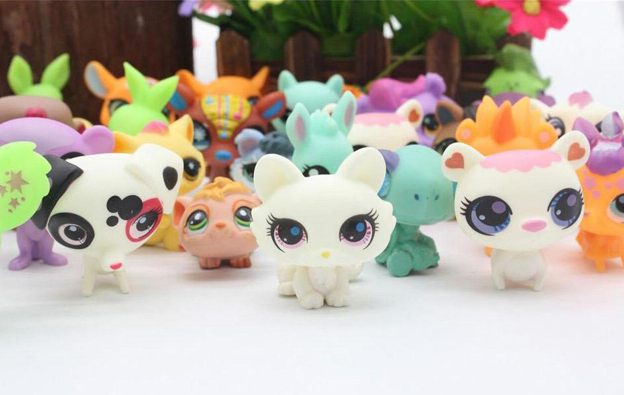 20Pcs/lot Model Lps Pet Shop Animal <font><b>Cat</b></font> Patrulla Dog <font><b>for</b></font>