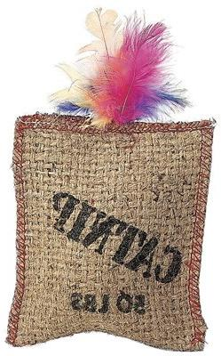 Ethical Products 2984 Jute.Feath Sack Cat Toy - Quantity 12