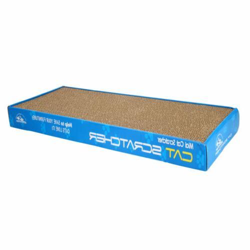 2pcs pet cat scratching corrugated board scratcher