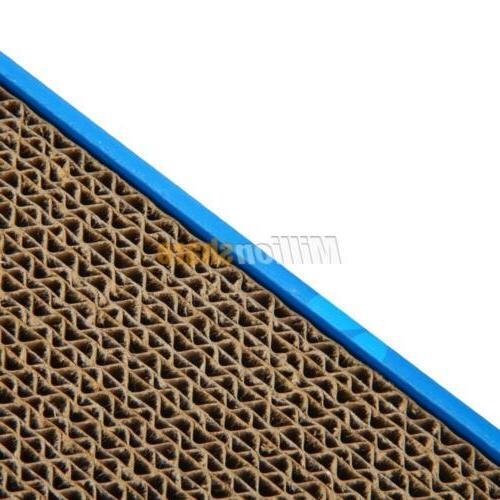 2x Cat Corrugated Scratcher Pad Catnip