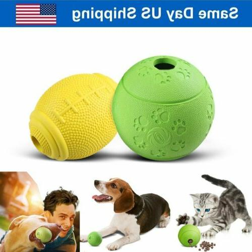 2x pet cat dog interactive food dispenser