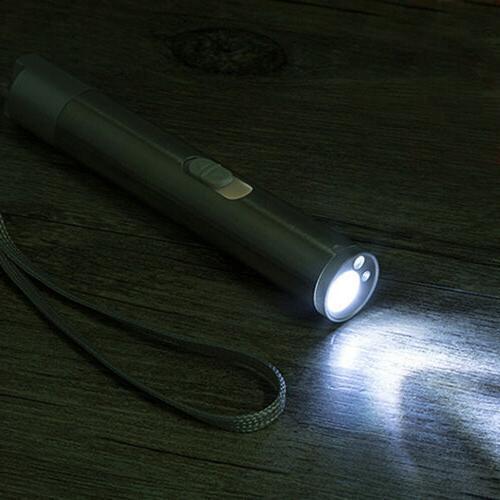 3 Pen Teaser Rechargeable UV LED Light Torch + Laser Pointer
