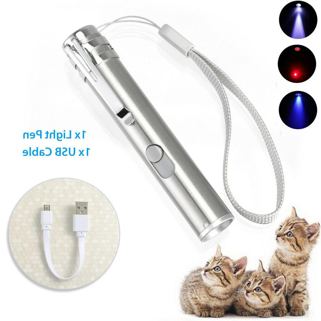 3 in 1 usb rechargeable pet toys