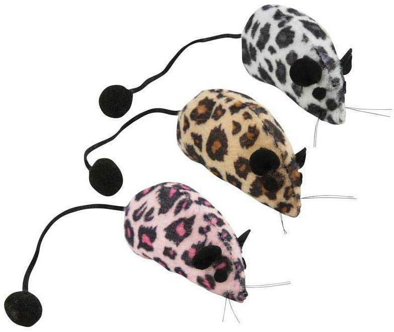3 NICE MICE CAT Animal PomPom Tail BULK LOTS