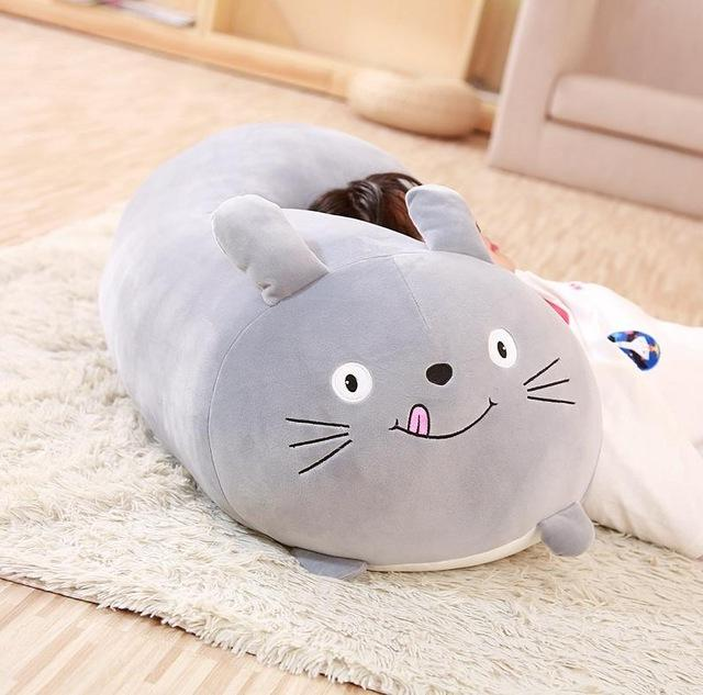 30CM Soft <font><b>Animal</b></font> Pillow Dog Cat Totoro Penguin Pig <font><b>Stuffed</b></font> Lovely Birthyday Gift