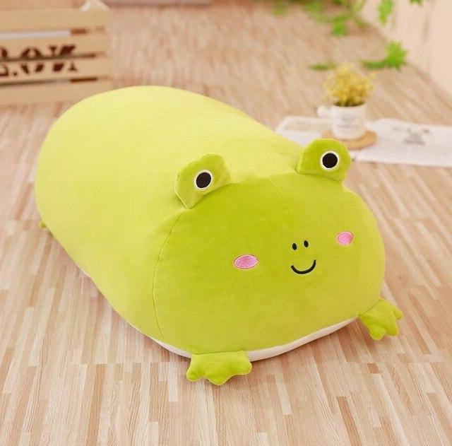 30CM Soft <font><b>Animal</b></font> Cartoon Pillow Cushion Dog Cat Totoro Pig Frog <font><b>Stuffed</b></font> Lovely Gift