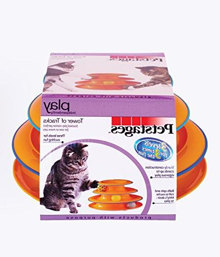 Petstages Ball Track Toy for Fun Cat Game