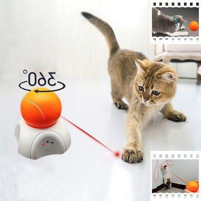 360 degree automatic interactive dart laser light