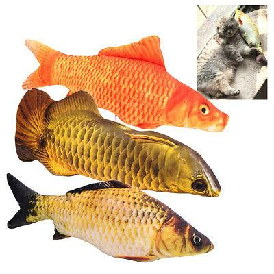 Cats Toy Simulation Plush Fish Pet Pillow Catnip Toys Chew B