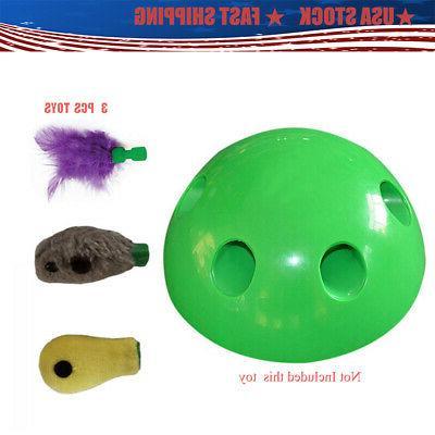 """3Pcs Pop-N""""Play Interactive Motion Cat Mouse Pet"""