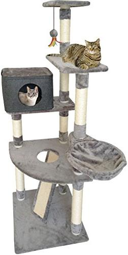 4 story cat tree tower