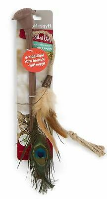 Petlinks 49722 Hyper Flyer Diffuser Wand with Feathers Hyper