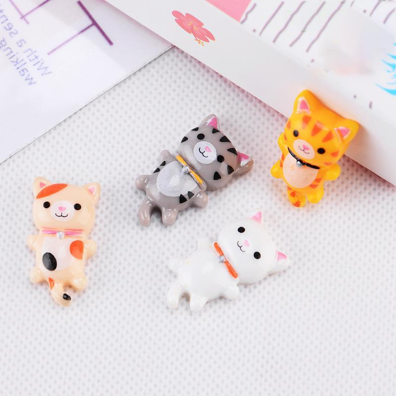 4pcs/Set Cute Resin Crafts Decoration Accessories <font><b>Garden</b></font> Decor Ornament <font><b>Toy</b></font>