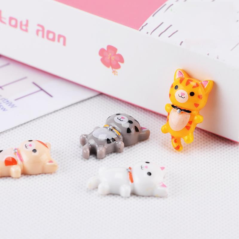 4pcs/Set Cute Sleeping Resin Craft Decoration Mini <font><b>Toy</b></font> Gift