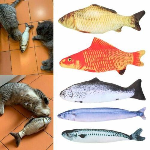 5 Fish Cat Kicker Crazy Pet Toys New