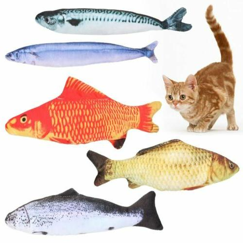 5 Pack Interactive Fish Kicker Crazy Pet Gift Toys New