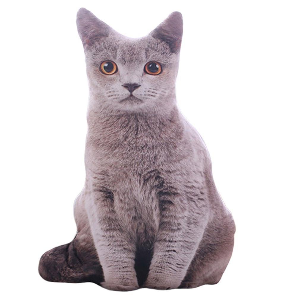 50cm 3D Plush <font><b>Cat</b></font> Soft Cushion Sofa <font><b>Toys</b></font> Gift