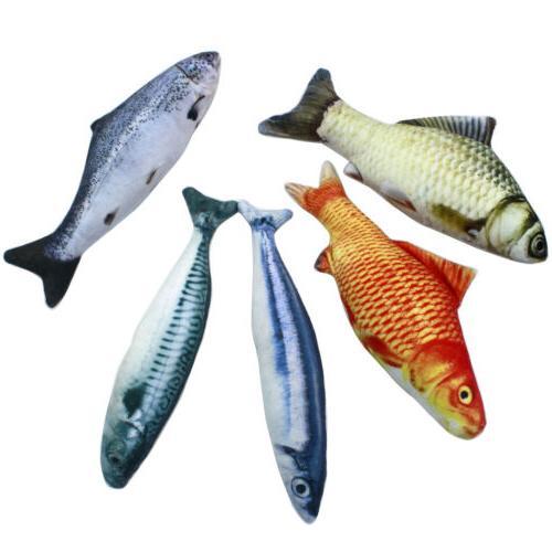 5PCS Fish for Cat, 20 Cat Toys, Cat Fish Pillow,