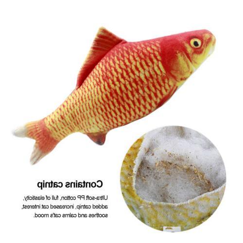 5PCS Catnip Fish for Cat, Cat Fish