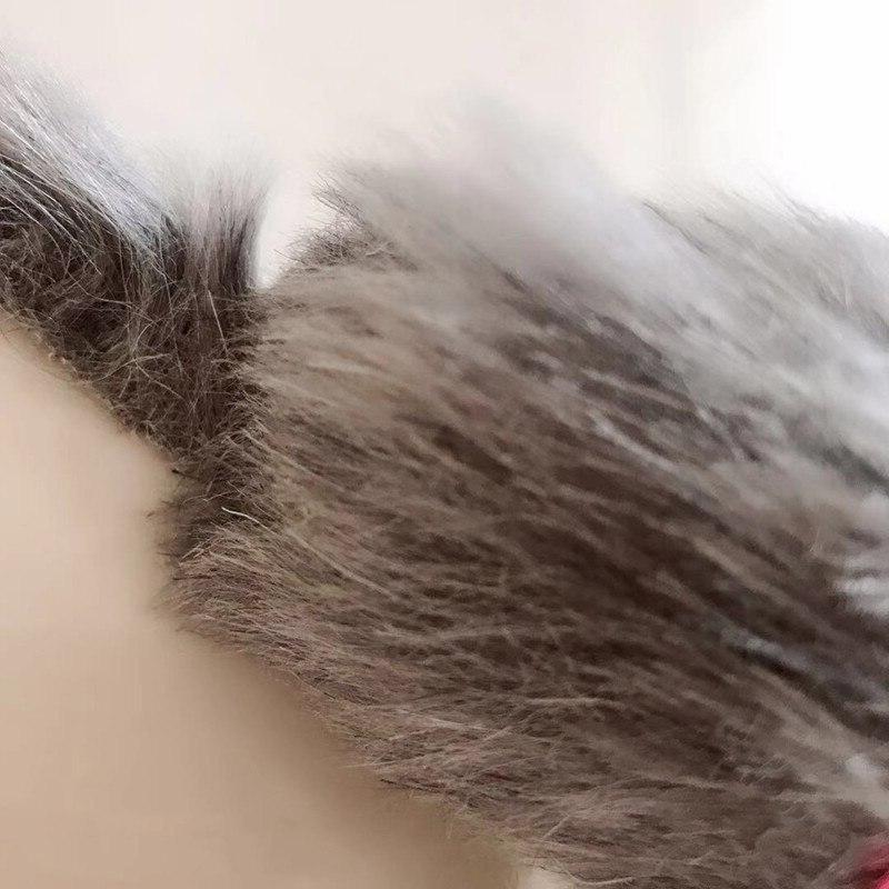 5Pcs Tail Sound Rattling Fur <font><b>For</b></font>