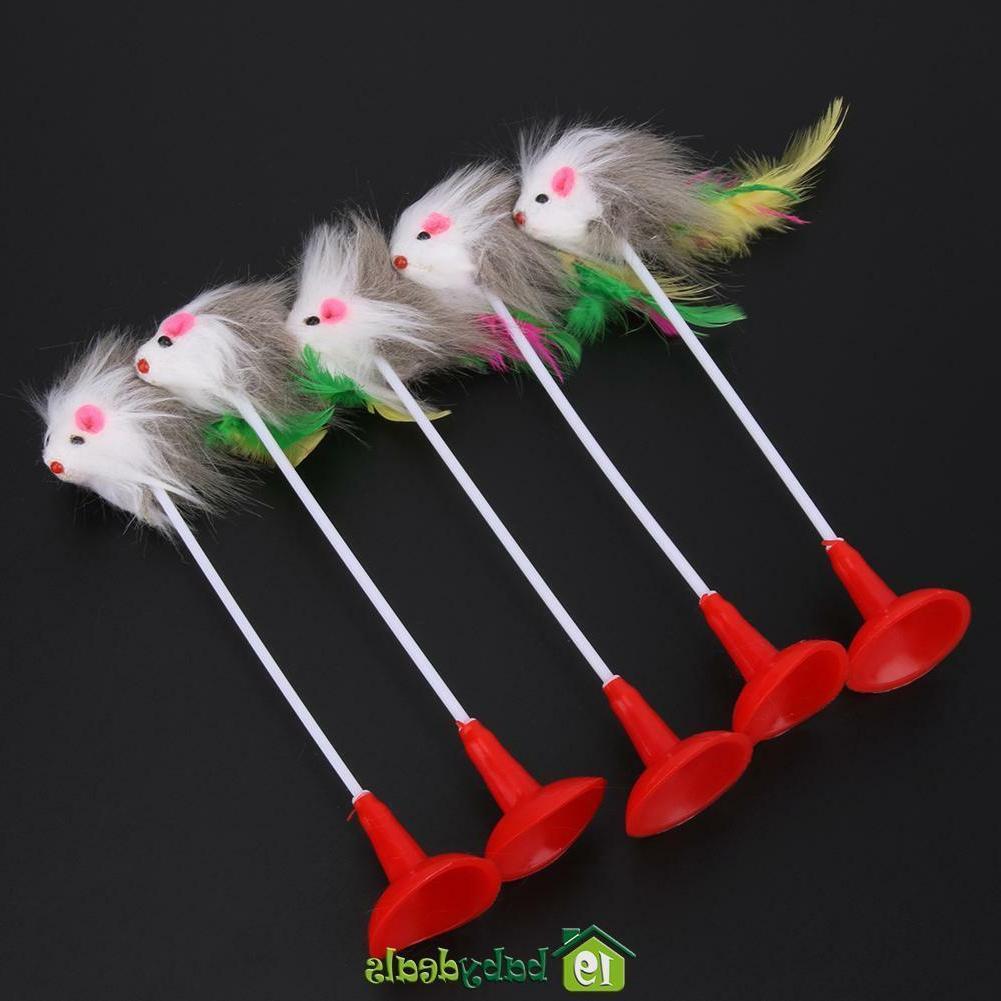 5pcs Toys Mice Rat Bottom for
