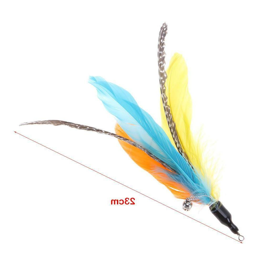 5pcs/lot Feather Replacement Interactive Cat