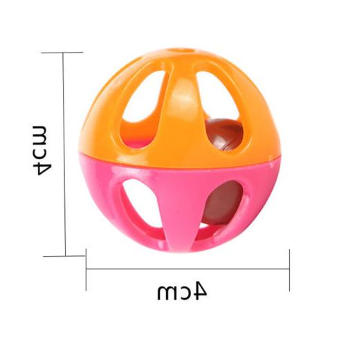 5pcs plastic small cat toy hollow balls toys for kitten
