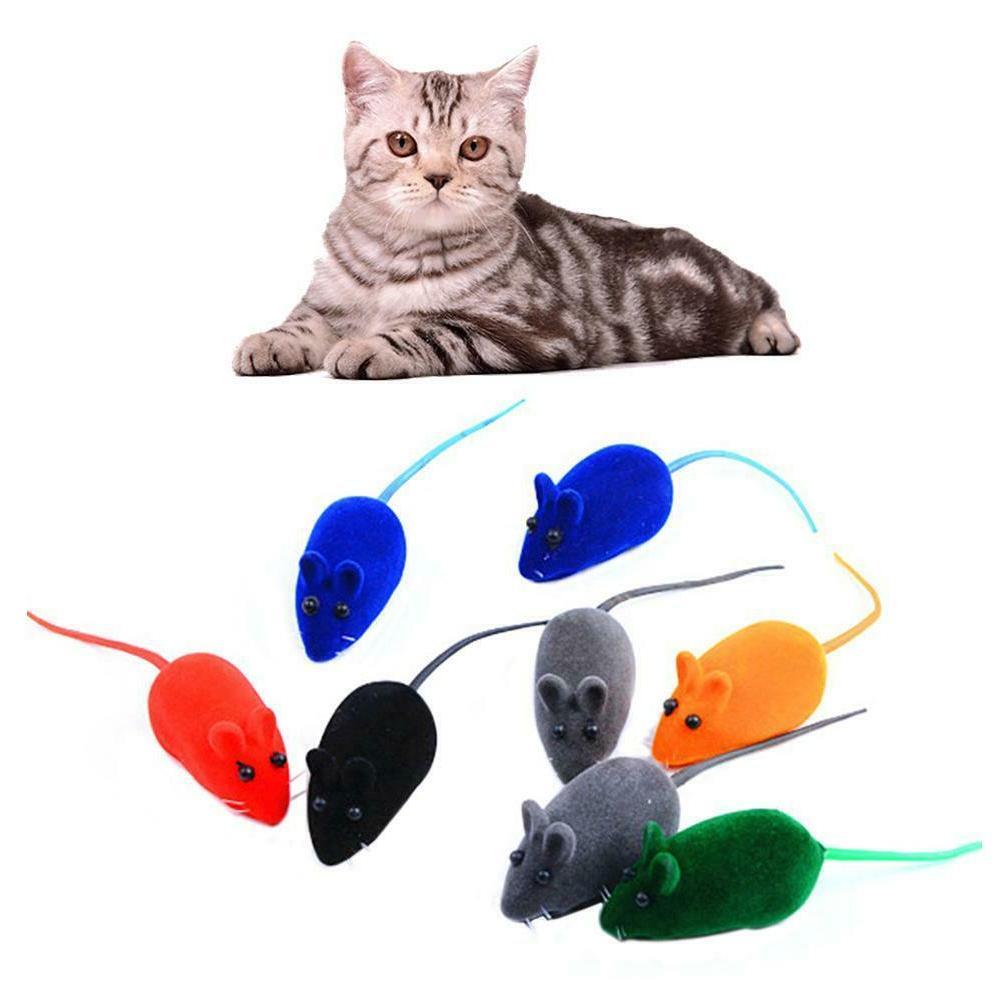 5PCS Toys Sound Toys Plush Rubber Flocking