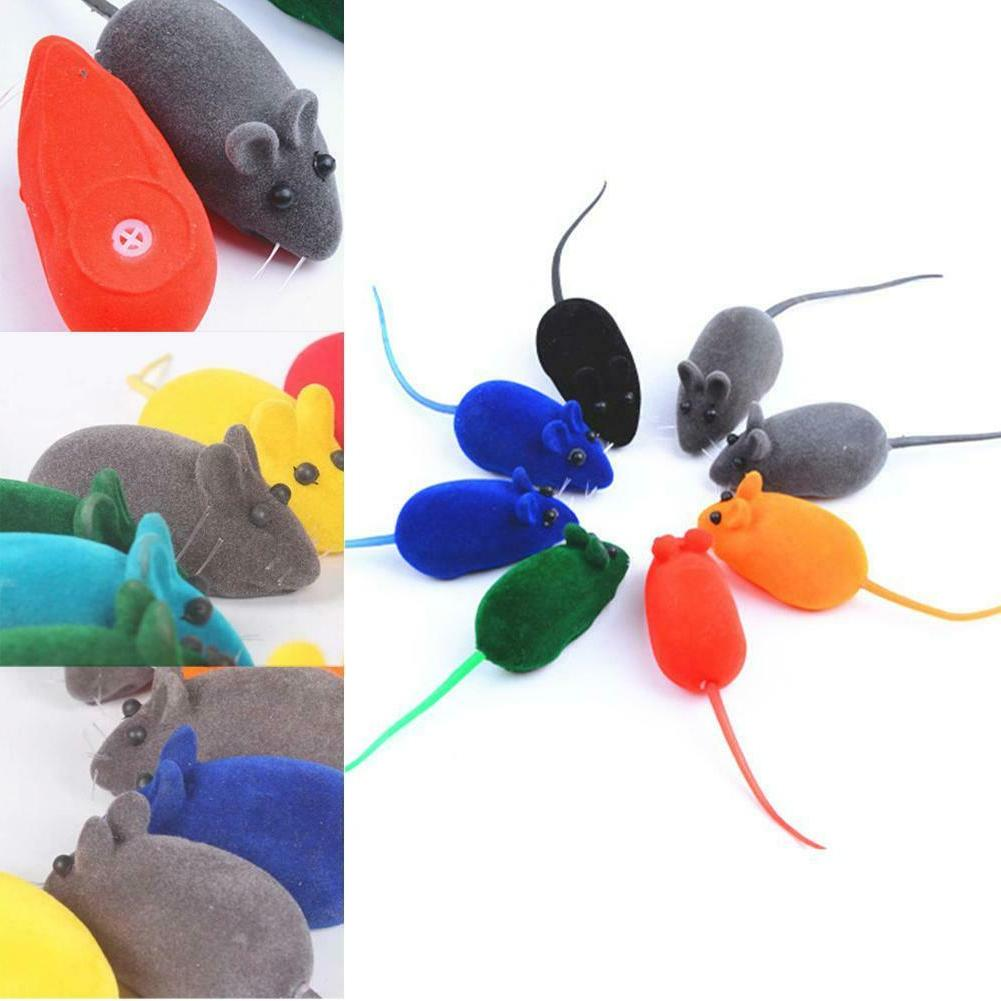 5PCS Interactive Sound Toys Plush Rubber