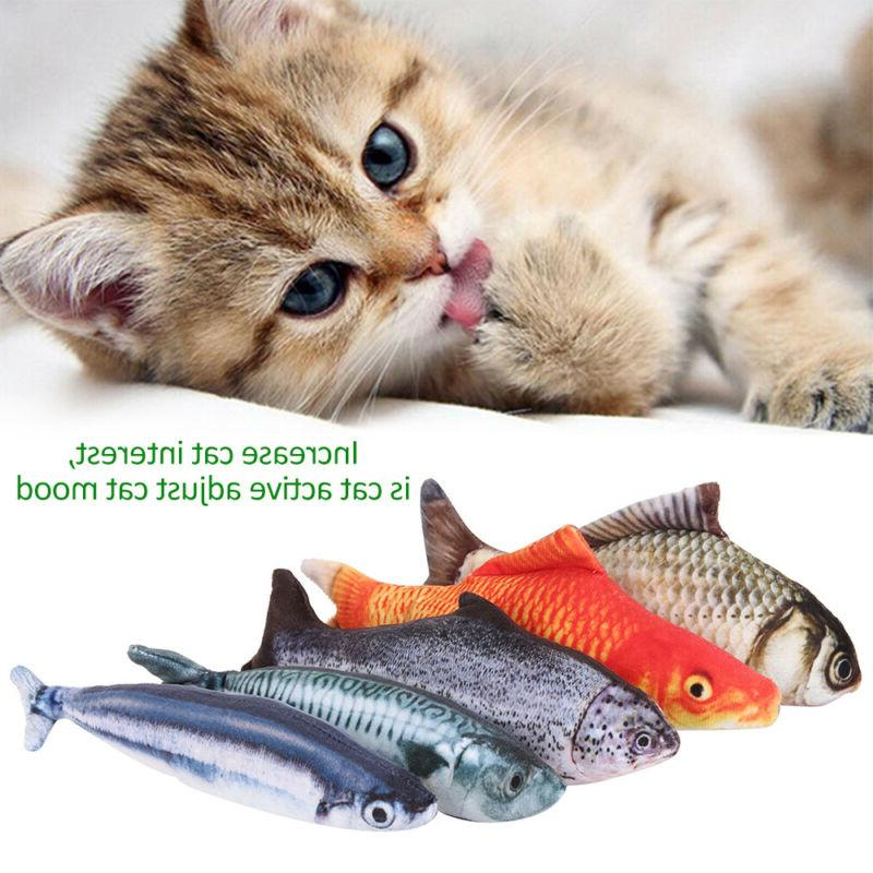 5X Realistic Fish Funny Toy Pet Gift