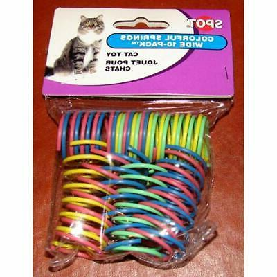6-Pack Springs Cat Toys Supplies
